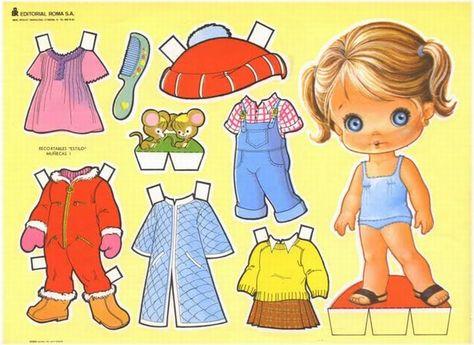 Muñecas De Papel Para Vestir Y Recortar Gratis Imagui
