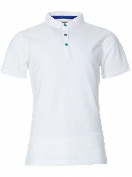 mens plain white polo shirt
