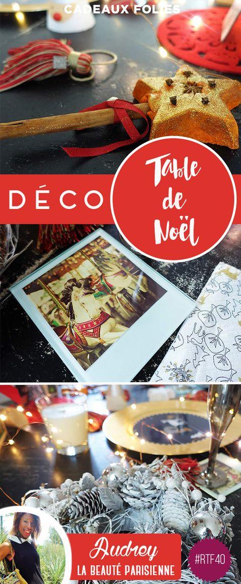 Déco de Noël : table de fête originale et simple à réaliser
