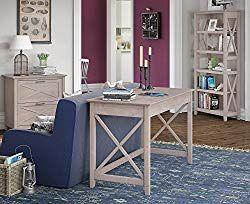 Bush Furniture Key West 48w Writing Desk With 2 Drawer