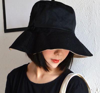 Japanese Korean Instagram Streetwear Style Two Sided Bucket Hat Ap01 Ebay Streetwear Fashion Style Street Wear