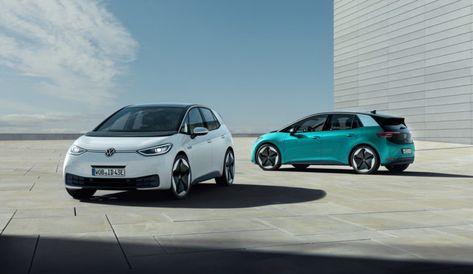 Volkswagen Id 3 Weiss Turkis Und Ganz Viel Grau In 2020 Volkswagen Volkswagen Golf Elektrisch