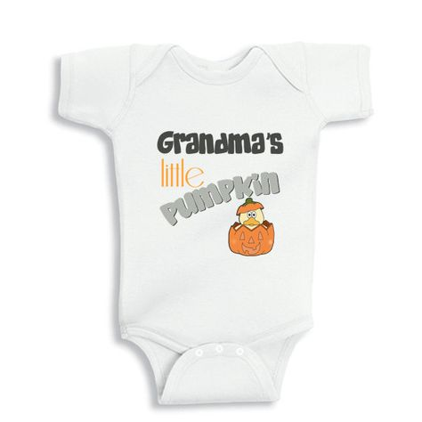 Grandma's little Pumpkin baby bodysuit or by babyonesiesbynany, $10.75
