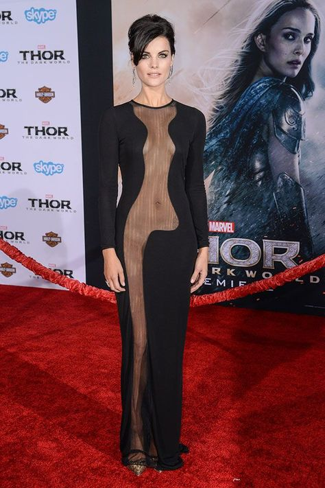 Jaimie Alexander Almost Naked on Red Carpet: How She Got