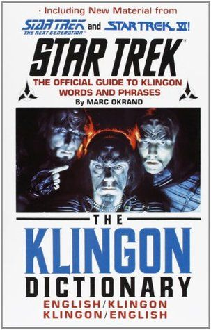 DOWNLOAD PDF The Klingon Dictionary By Marc Okrand Free