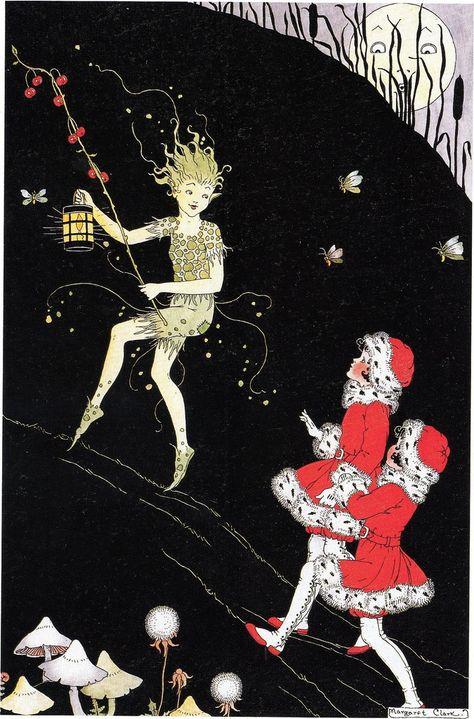 The Spirit of Mischief by Margaret Clark, ca.1920s