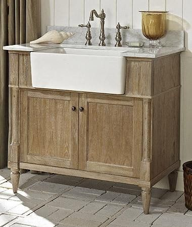 Fairmont Designs 142 Fv36 Rustic Chic 36 Inch Farmhouse Vanity In Weathered Oak Smallba Farmhouse Vanity Inexpensive Bathroom Vanity Farmhouse Bathroom Vanity