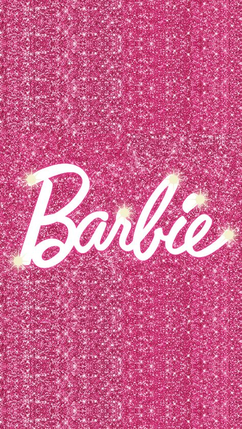 ImageFind images and videos about pink, glitter and barbie on We Heart It - the app to get lost in what you love. Bedroom Wall Collage, Photo Wall Collage, Picture Wall, Pink Wallpaper Iphone, Girl Wallpaper, Pink Glitter Wallpaper, Pink Glitter Background, Trendy Wallpaper, Cellphone Wallpaper