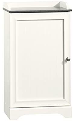 Amazon Com Sauder Caraway Floor Cabinet Soft White Finish Kitchen Dining In 2020 Sauder Sauder Woodworking White Finish