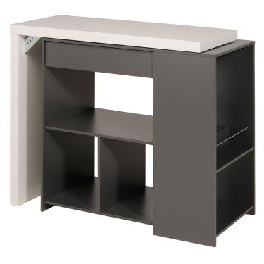 Parisot Desserte Multifunctional Counter Height Cabinet Table