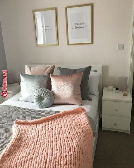 39 Trendy Bedroom White Gold Grey Gray Pink And White Bedroom Furniture White Girls Rooms Pink Bedroom Decor