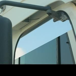 Freightliner Century Columbia Coronado Stainless Steel 8 Chopped Look Door Trim Pair Freightliner Stainless Steel Mirror Brackets