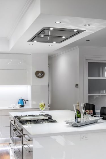 Awesome Ceiling Range Hood In Bulk Head The Same Length As The Caraccident5 Cool Chair Designs And Ideas Caraccident5Info