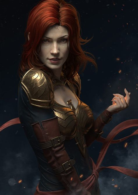 """f Ranger Here is my latest personal project """"Dark Phoenix"""".The character was modeled in Zbrush and rendered in Arnold. High Fantasy, Fantasy Women, Medieval Fantasy, Fantasy Girl, Fantasy Rpg, Dark Phoenix, Jean Grey Phoenix, Phoenix Marvel, Phoenix Art"""
