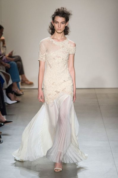Jonathan Simkhai, Spring 2018 - Stunning New York Runway Gowns Made for a Bride - Photos