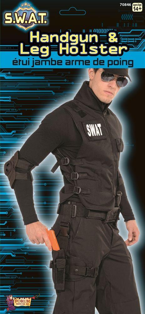 SWAT Halloween Costume Funny Humor Joke Meme Internet Juniors V-neck T-shirt