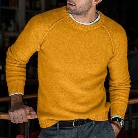Wild'n Wooley Knit - Yellow / Size XL