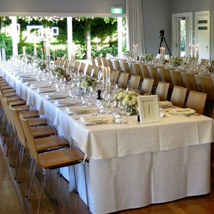 Long Table Set Up On Verandah At Bells Killcare