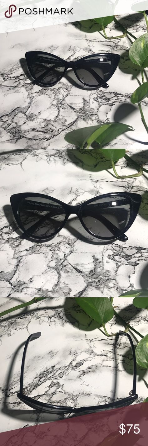 ca4da9ad57f Tom Ford black cat eye Nikita sunglasses These a Tom ford black cat eye  Nikita sunglasses