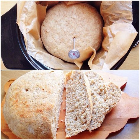 slow cooker bread - @Michelle T.