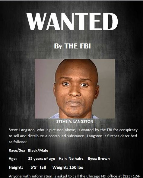 FBI wanted poster template 01 Crafts Pinterest Craft - wanted poster template