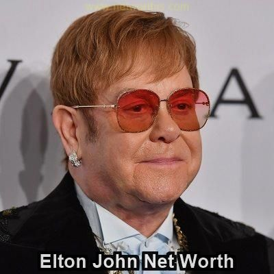 Elton John Net Worth 19 -19  Elton john, Net worth, Singer