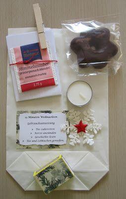 Diamantin´s Hobbywelt: 15 Minuten Weihnachten in der Tüte