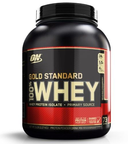 Optimum Nutrition Gold Standard 100 Whey Powder Delicious Strawberry 5 Lb Dblrichchoco Deli Gold Standard Whey Gold Standard Whey Protein Best Whey Protein