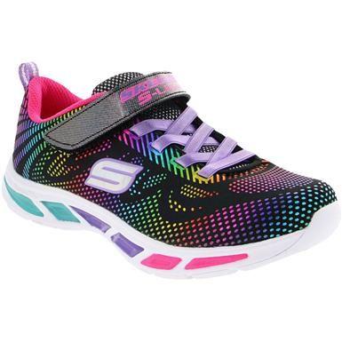 Skechers Lightbeams Gleam N Dre Running Girls Barnskor  Kids Shoes