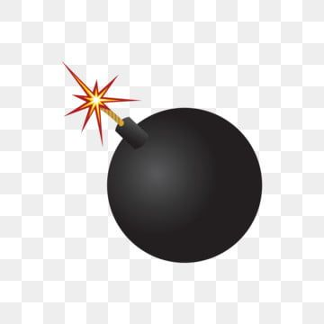 Cartoon Black Bomb Illustration Bomb Black Bomb Lit Bomb Png And Vector With Transparent Background For Free Download Cartoon Clip Art Explosion Drawing Illustration