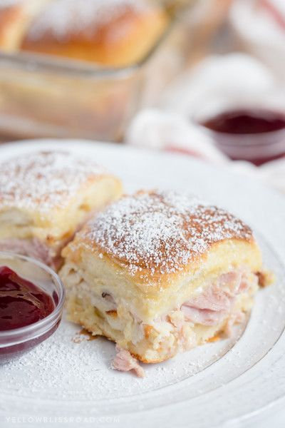 Monte Cristo Sliders - All The Mouthwatering Slider Recipes You'll Ever Need - Photos