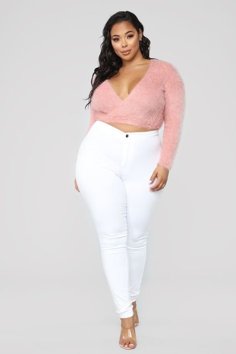 Női nadrágok Plus Size nadrágok Curcy Girl trend plus