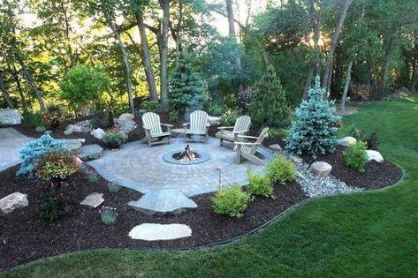 Backyard Landscaping Hillside Fire Pits 15 Ideas Fire Pit