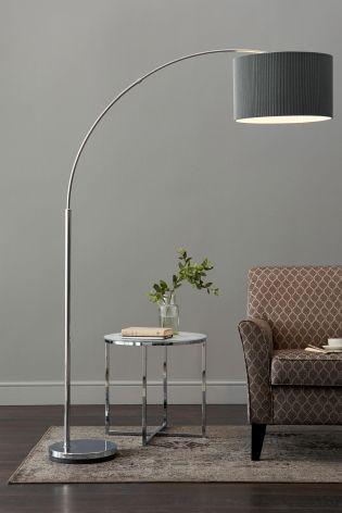 The sweep floor lamp in grey and copper moveable metallic accents the sweep floor lamp in grey and copper moveable metallic accents 99 made living room industrial pinterest floor lamp metallic and gray aloadofball Gallery