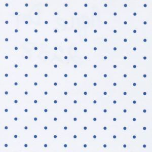 White And Royal Blue Polka Dot Fabric Polka Dots Fabric Wholesale Polka Dot Fabric Dotted Fabric Blue Polka Dots
