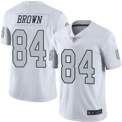 46a5d5f5fa0 $23 Nike Raiders #84 Antonio Brown White Youth Stitched NFL Limited Rush  Jersey