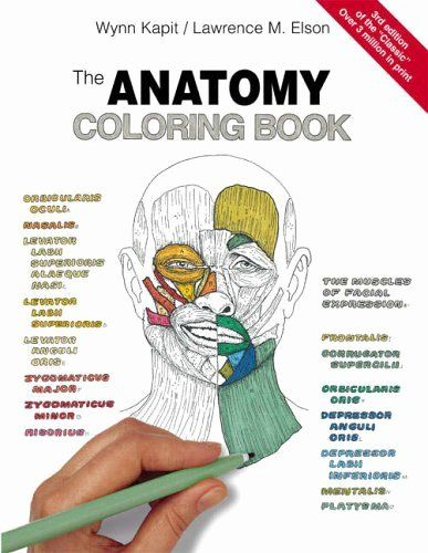 The Anatomy Coloring Book Best Of The Anatomy Coloring Book Amazon Wynn Kapit Anatomy Coloring Book Coloring Books Anatomy