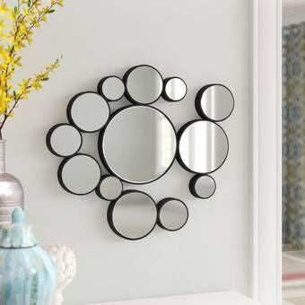 Wrought Studio Hartfo Accent Mirror Wayfair In 2020 Mirror Wall Mirror Wall Art Mirror