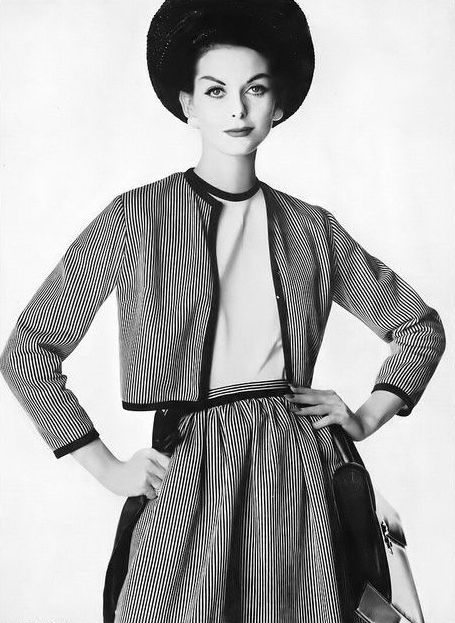 Anne St  Marie, photo by Irving Penn, Vogue, April 15, 1959