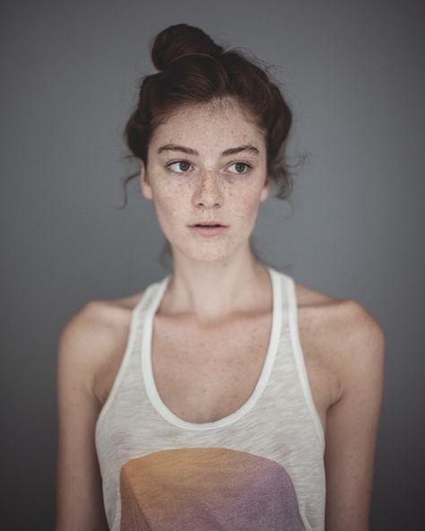 Alli Grimes - Brooklyn | Portrait, Freckles, Emotional