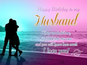 50 Birthday Wishes For Husband Birthday Wish For Husband