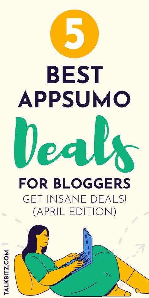 5 Best AppSumo Deals for Bloggers (April 2021)