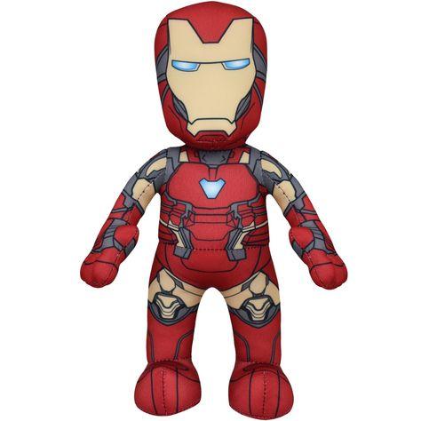 Marvel's Avengers Plush Figure Bundle: Cap, Iron Man and Black Widow 10