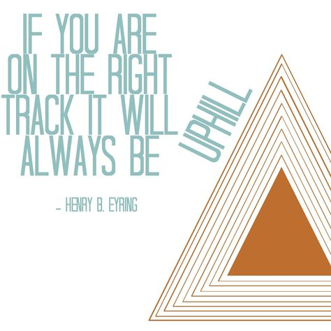 on the right track quote