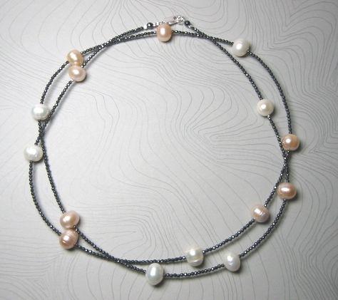 Halskette Kette Modekette Lederband Modeschmuck Bettelkette Lang Lagenlook XXL