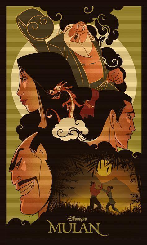 Mulan kreskówka