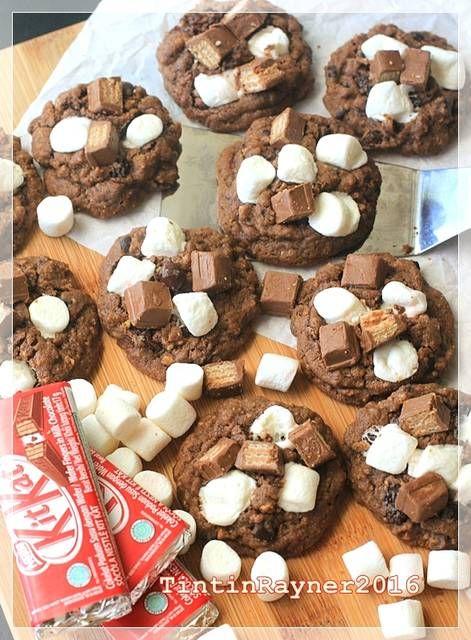 Resep S More Pudding Cookies Cookies Chewy Empukkk Pake Nutrijell Oleh Tintin Rayner Resep Resep Biskuit Ide Makanan Kukis Coklat