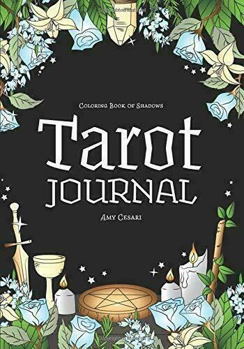 Coloring Book Of Shadows Tarot Journal Paperback 2019 Book Of Shadows Coloring Books Tarot