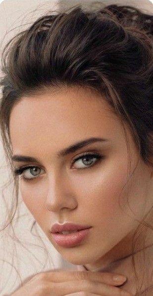Pretty Woman Pretty Woman Face Makeup Face Cosmetics In 2020 Beautiful Women Faces Beautiful Girl Face Brunette Beauty