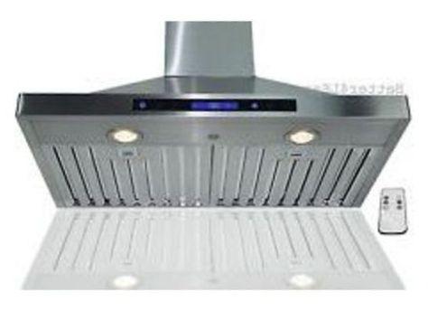 fascinating wall mount stainless steel kitchen exhaust fan double rh pinterest com au